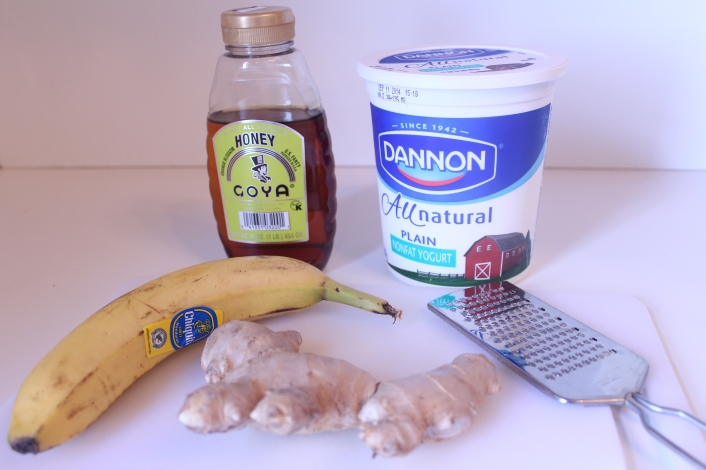 Banana Ginger Ingredients