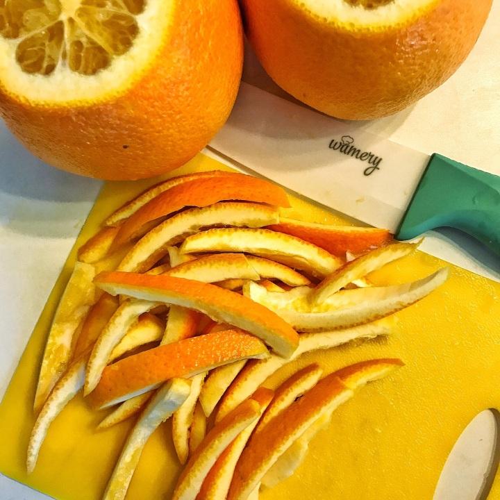 17 - orange peels