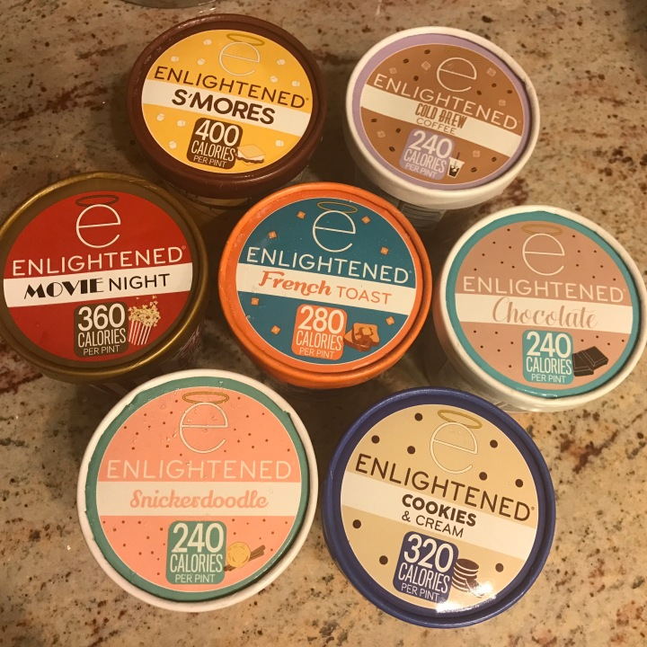 New Flavors of Enlightened 'Better-for-You' Ice Cream Review